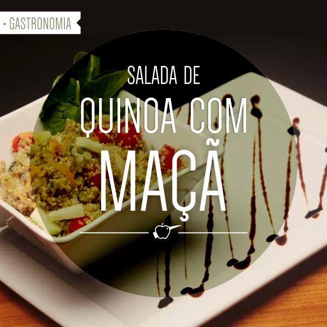 Salada de Quinoa com Maçã